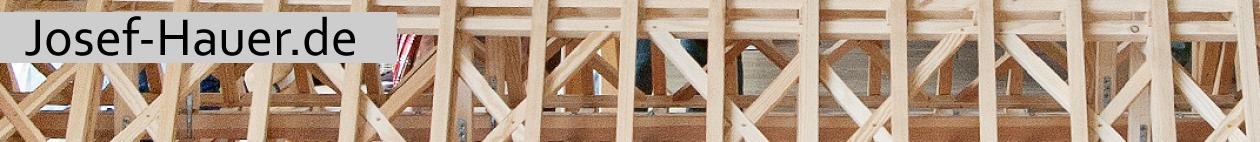 Modelle historischer Dachstühle